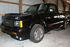 The Syclone: Saudi #2792 : Here it is, 1991 GMC Syclone # 2792 out of 2995. I bought this truck from the original owner, Chuck K., on February 2nd, 2008. The pics below are from that day, shot in a large pole barn where the truck had sat since fall of 1998. At the time, the truck had 1,296 miles, making it one of the lower mileage syclones around . This particular truck was one of the 31 returned from Saudi Arabia in 1994 and sold in a lottery to GM employees. Rated (conservatively) at 280hp, the syclone will go 0-60 in about 4.6, and do the 1/4 mile in low 13s.